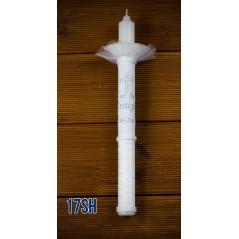 Świeca do Chrztu Świętego, model 17SH