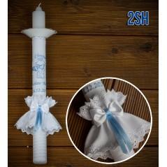 Świeca do Chrztu Świętego, model 2SH
