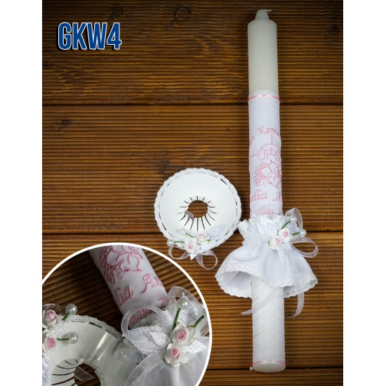 Świeca do Komunii Świętej, model GKW4
